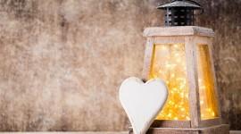 4K Winter Lantern Image Download