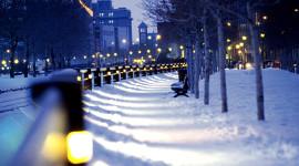 4K Winter Lantern Photo Download