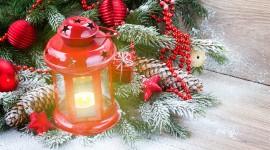 4K Winter Lantern Wallpaper 1080p