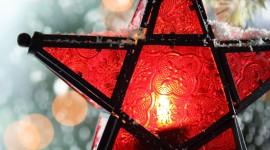 4K Winter Lantern Wallpaper For Mobile