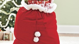 Bag With Christmas Gifts For IPhone#1