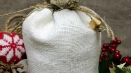 Bag With Christmas Gifts For Mobile
