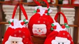 Bag With Christmas Gifts Image