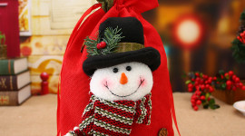 Bag With Christmas Gifts Image Download