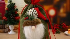 Bag With Christmas Gifts Image#1