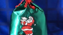 Bag With Christmas Gifts Photo#1
