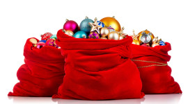 Bag With Christmas Gifts Wallpaper For PC