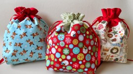 Bag With Christmas Gifts Wallpaper Free