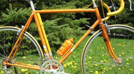 Bike Painting Wallpaper Background
