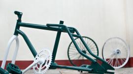 Bike Painting Wallpaper High Definition