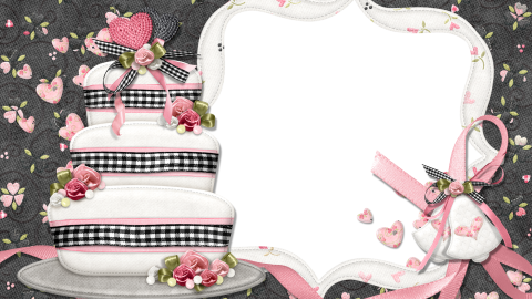 Cake Photo Frame wallpapers high quality