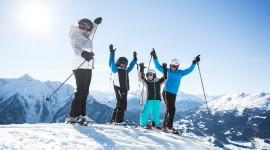 Children Skiing Photo Download