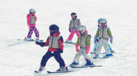 Children Skiing Picture Download