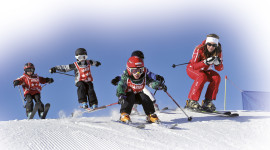 Children Skiing Wallpaper Gallery