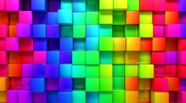 Cubes Abstraction Photo Download