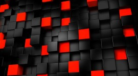 Cubes Abstraction Wallpaper