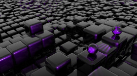 Cubes Abstraction Wallpaper Download