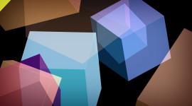 Cubes Abstraction Wallpaper For Desktop