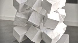 Cubes Abstraction Wallpaper For IPhone