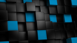 Cubes Abstraction Wallpaper For Mobile#1