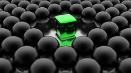 Cubes Abstraction Wallpaper Free