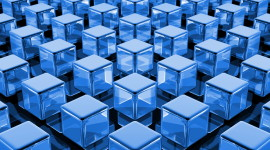 Cubes Abstraction Wallpaper Full HD