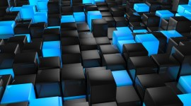 Cubes Abstraction Wallpaper Gallery
