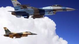 F-16 Fighter Desktop Wallpaper