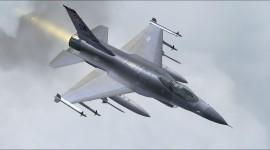 F-16 Fighter Desktop Wallpaper HD