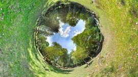 Fisheye Effect Image