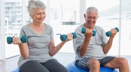 Fitness For The Elderly Photo