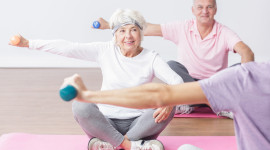 Fitness For The Elderly Picture Download