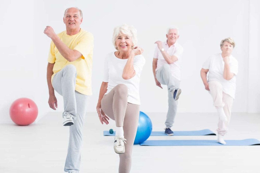 Fitness For The Elderly wallpapers HD