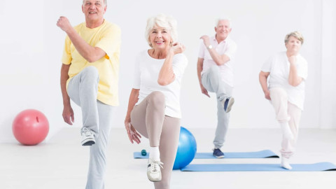 Fitness For The Elderly wallpapers high quality