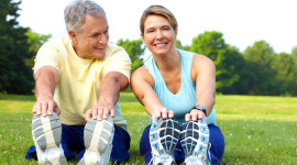 Fitness For The Elderly Wallpaper Free