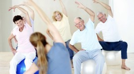 Fitness For The Elderly Wallpaper Full HD