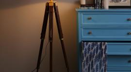 Floor Lamp Wallpaper For IPhone 6