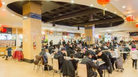 Food Court Wallpaper For PC