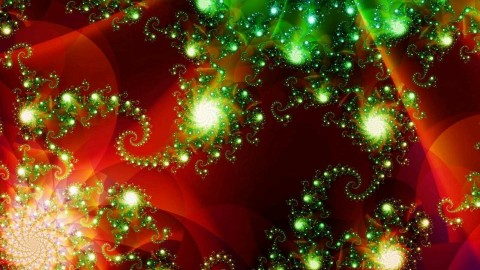 Fractal New Year wallpapers high quality