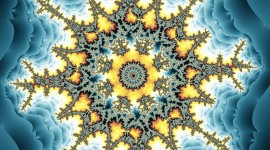 Fractal New Year Image