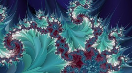 Fractal New Year Photo Download