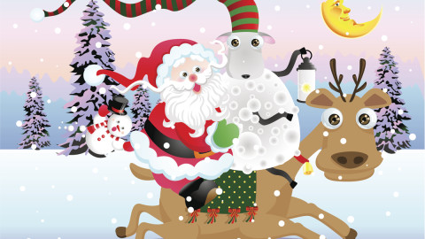 Funny Santa Claus wallpapers high quality