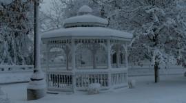 Gazebo Snow Picture Download