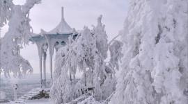 Gazebo Snow Wallpaper Gallery