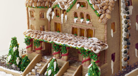 Gingerbread House Desktop Wallpaper