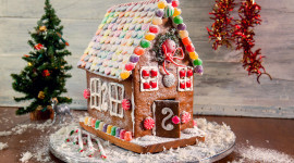 Gingerbread House Photo Free