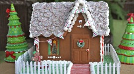 Gingerbread House Wallpaper 1080p