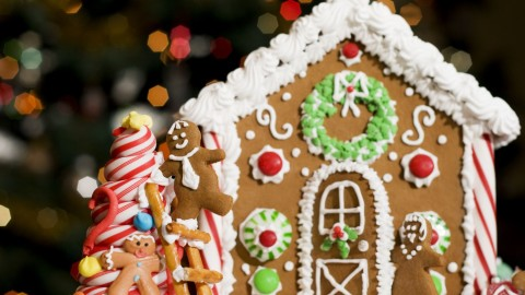 Gingerbread House wallpapers high quality