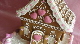 Gingerbread House Wallpaper For Android