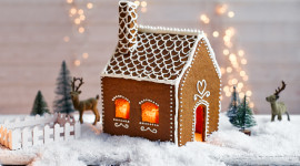Gingerbread House Wallpaper For Desktop